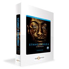 クリプトン | ETHNO WORLD 6 COMPLETE / BOX(音楽ソフトウエア)